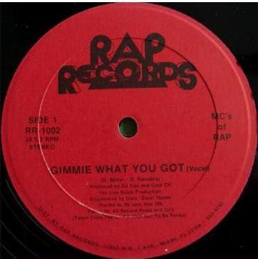 MC's Of Rap – Gimmie What You Got / Love Me, Love Me Not (VLS) (1989) (VBR V2)