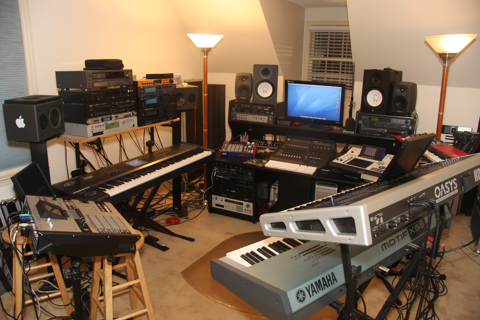 Atlanta Sound Studios Top Notch Recording Studio In Johns