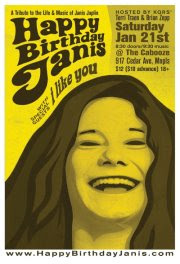 happybirthdayjanis - Happy Birthday, Janis Joplin!