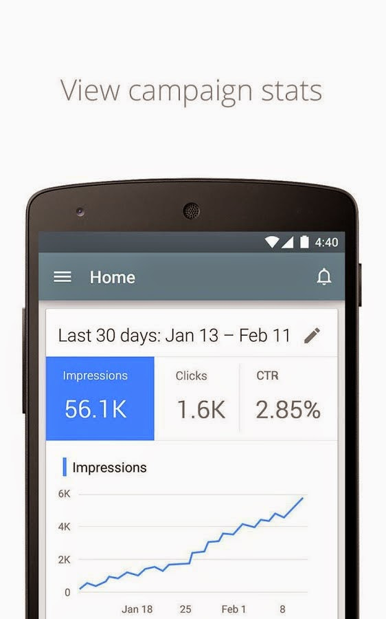 Google's AdWords app arrives on Android