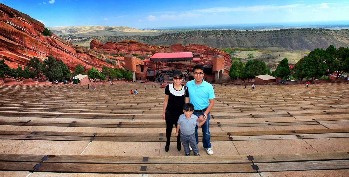 the complications created by red rocks amphitheater Uber from red rocks which is to the south of the amphitheater uber created this non-tipping thing and it is their fault that people don't tip.