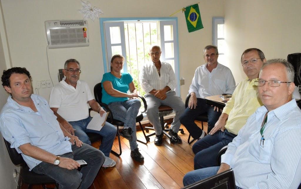 Representantes da Prefeitura e da CRT se reúnem para tratar de assuntos relacionados à divulgação da cidade