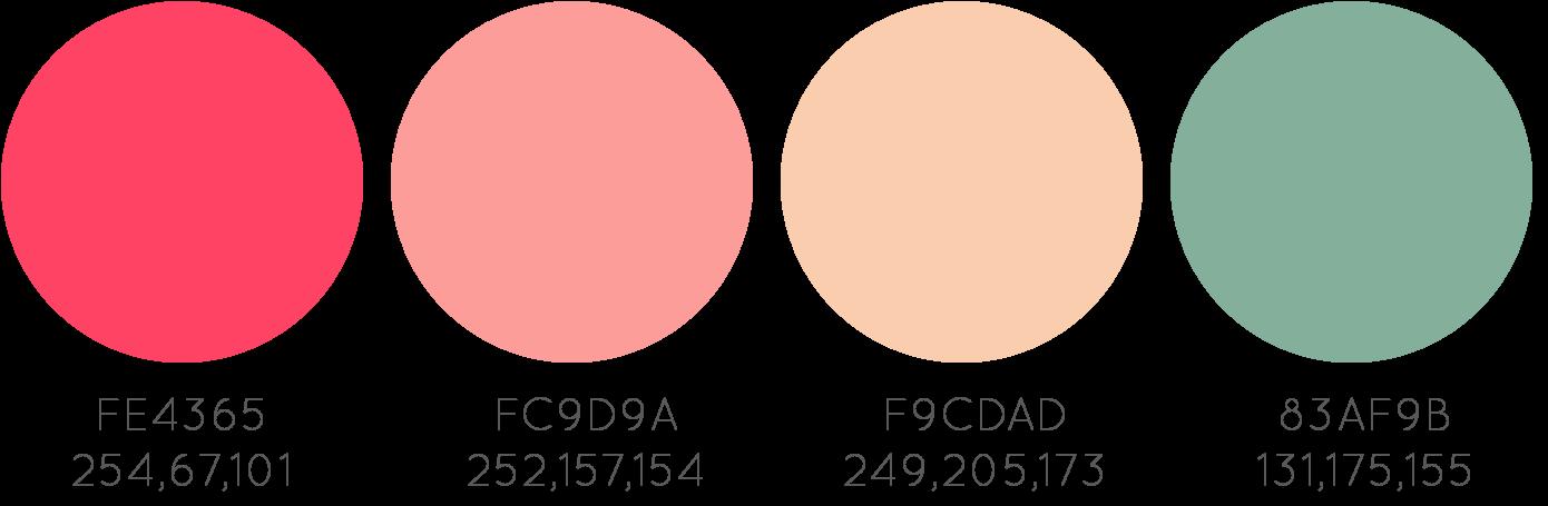 Creative mindly paletas de colores para blogs y dise os for Combinacion de color rosa