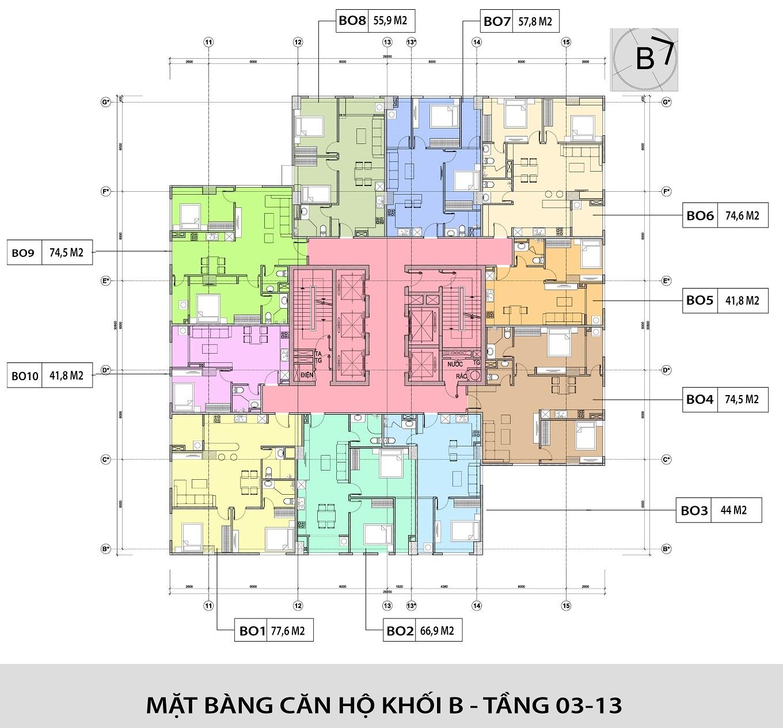 CĂN HỘ OFFICETEL HONGKONG TOWER