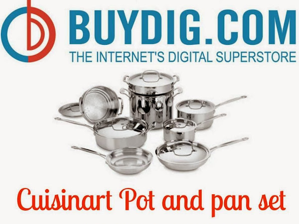 Giveaway: Cuisinart Pot and Pan Set Giveaway