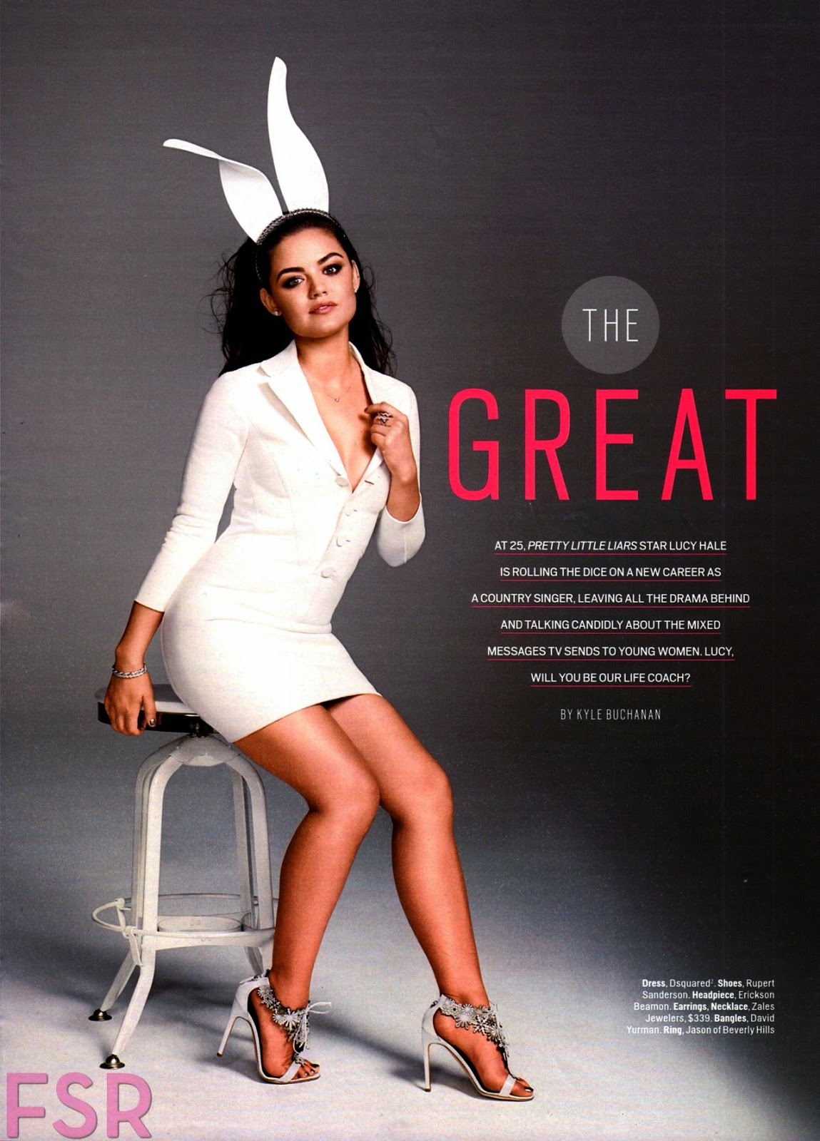 Lucy Hale – Cosmopolitan Magazine September 2014 Issue
