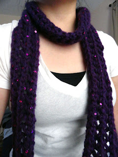 Skinny Lace Scarf 2 - Purl Avenue