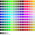 982 Kode Warna CSS & HTML Lengkap