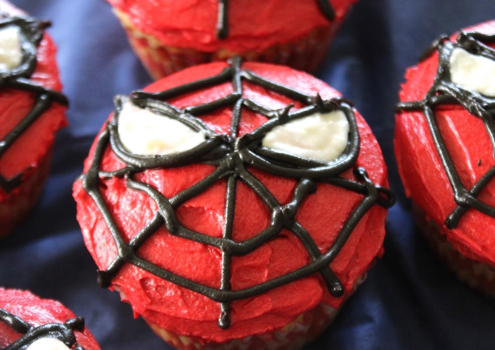 Spiderman cake recipe video