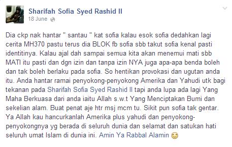 PENDEDAHAN BERANI MATI SHARIFAH SOFIA SYED RASHID