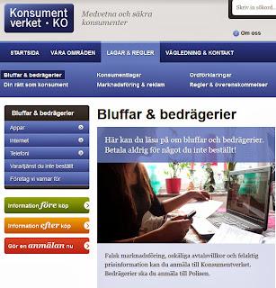 http://www.konsumentverket.se/Lagar--regler/Bluffar/
