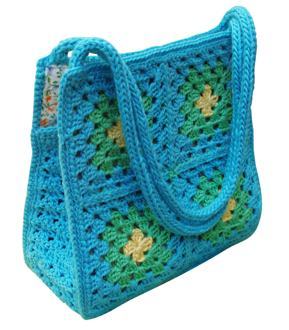 Sophie and Me: THE GRANNY SQUARE BAG PATTERN IN ENGLISH IS READY.....