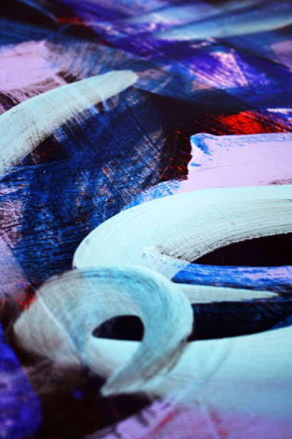 Marc Lawrence Abstract Canvas Acrylic Painting 05