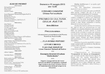 Premio Giulia Avetta
