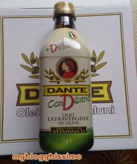 Olio Dante con vitamina D