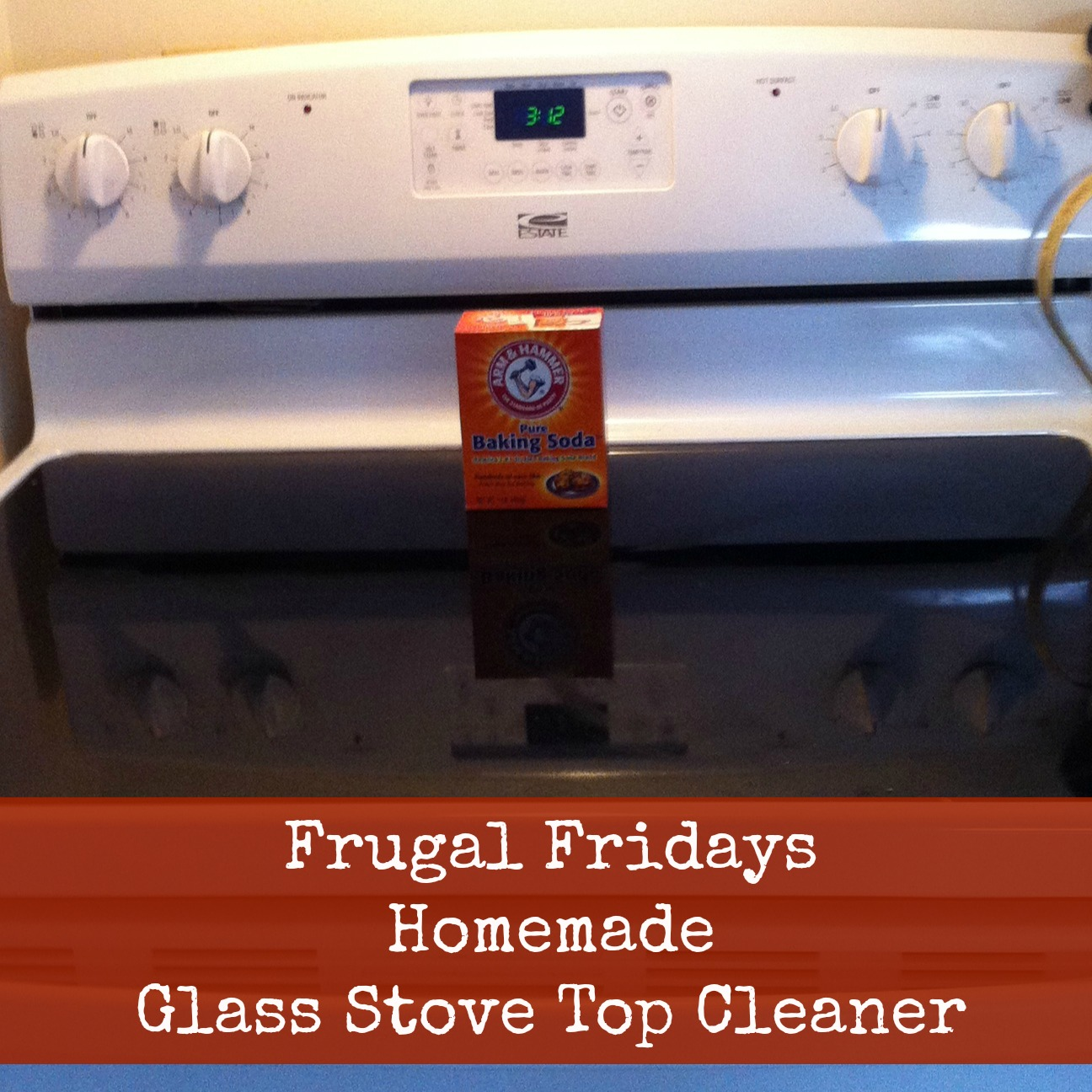 Sunshine Maker Meg Frugal Fridays Homemade Glass Stove
