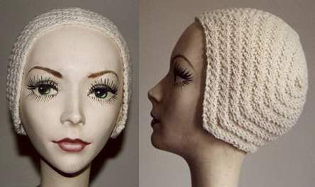 Vintage Pattern Files: 1920's Knitting - Amelia Earhart Aviator Cap