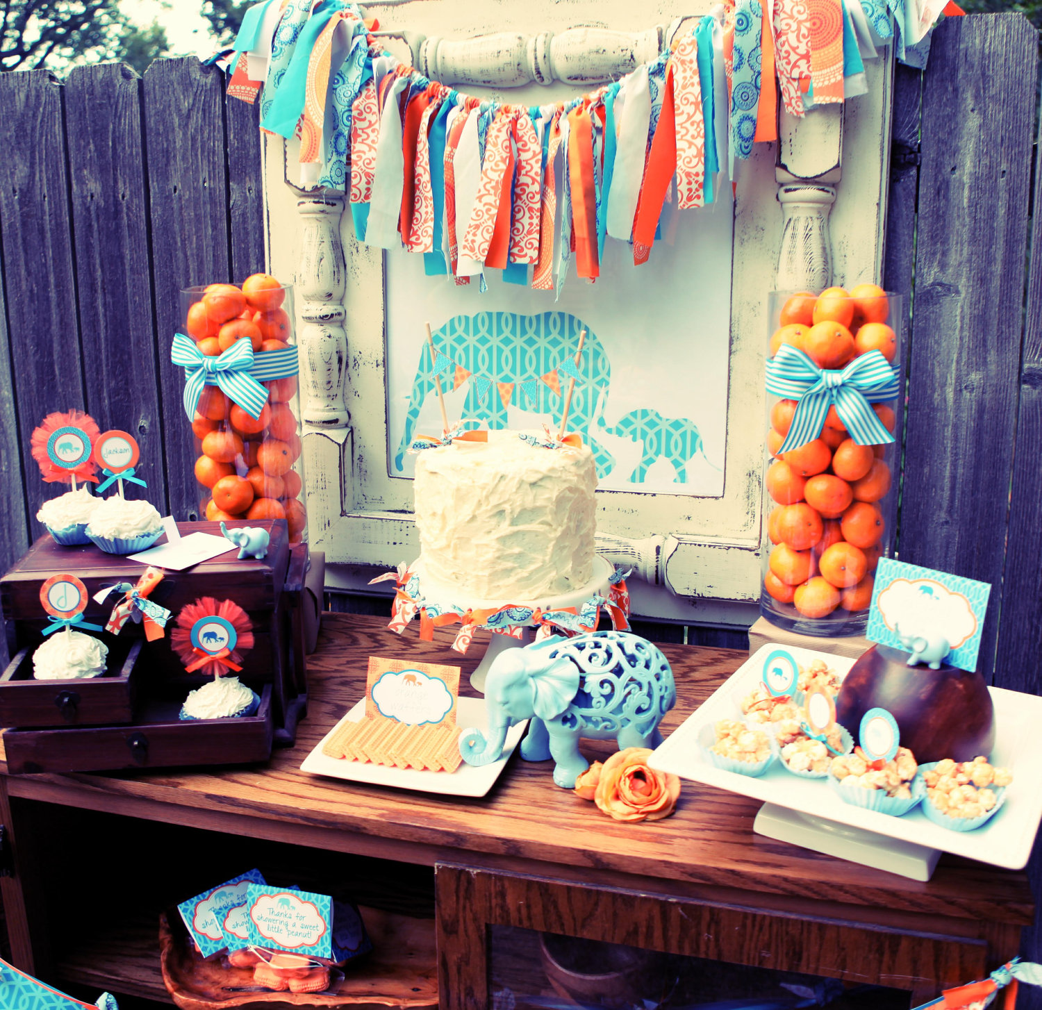 Kara 39 s party ideas little peanut baby shower kara 39 s for Dekoration fur babyparty