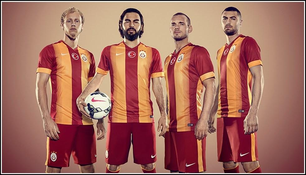 Nike Reveal Galatasaray Home 14-15 Kits