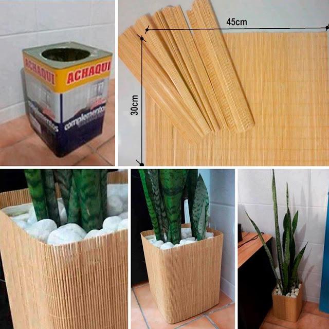 di rio de uma sementeira diy vasinhos diferentes feitos com material reciclado. Black Bedroom Furniture Sets. Home Design Ideas