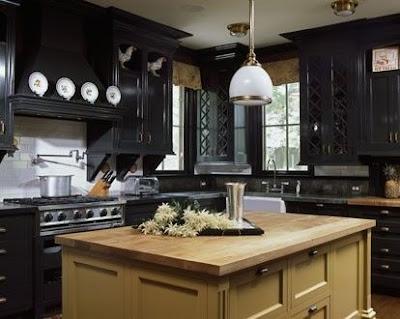 Read more about Gabinetes de Cocina Negros - Muy Elegantes