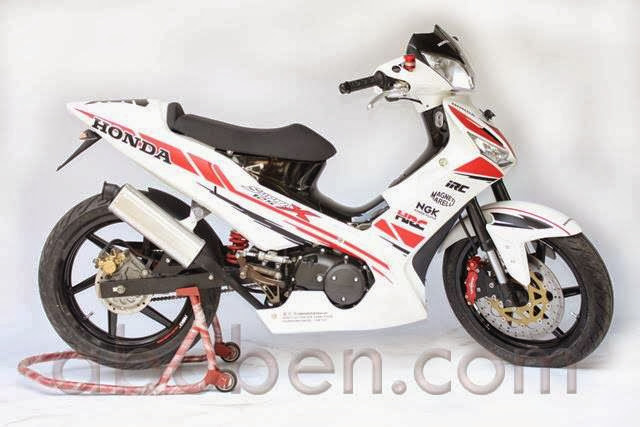 Modifikasi Honda Supra X 125 Sporty title=
