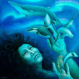 Pagan Spoonie: Sedna, Arctic sea goddess of the Inuit people