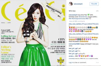 Tiffany SNSD Rayakan Ulang Tahun Ke 26 Hari Ini