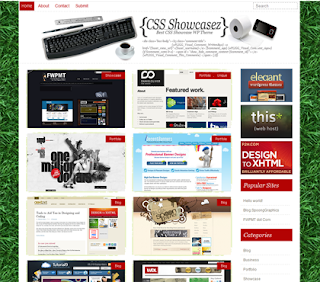 CSS Showcasez WordPress Theme