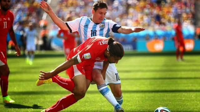 الارجنتين تفوز على سويسرا بشق الانفس و تتأهل لدور الثمانية