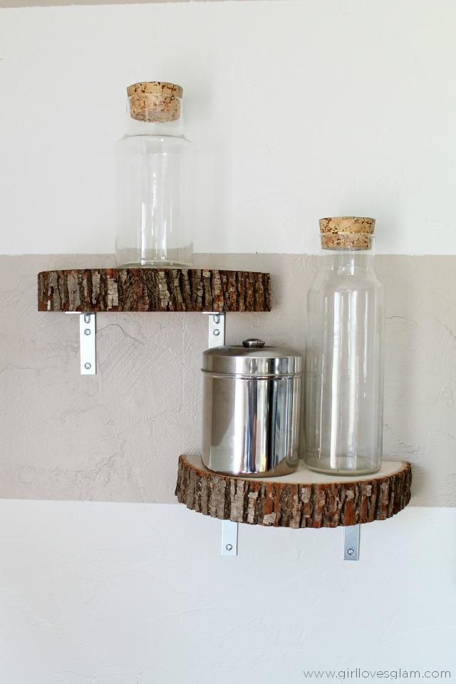 Decorar con rodajas de madera la garbatella blog de - Decoracion troncos madera ...