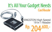 KINGSTON High Speed 19 In 1 Reader [FCR-HS219/1FE]