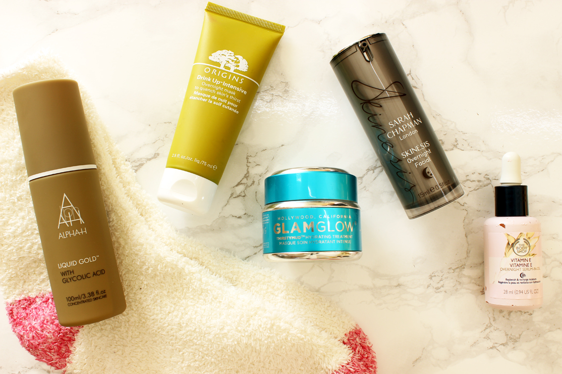 Overnight Skin Treatments and Masks
