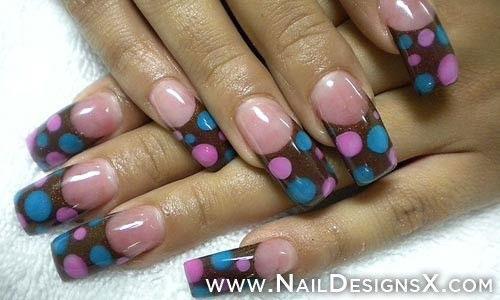 15 Cute Acrylic Nail Art Designs Gallery 8