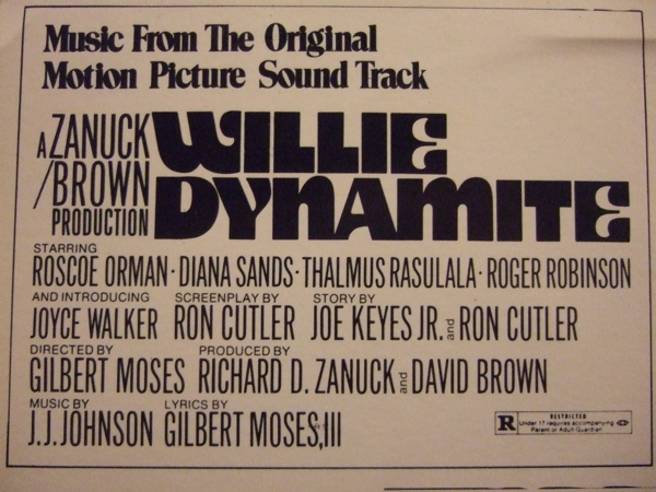JJ Johnson Willie Dynamite Music From The Original Motion Picture Soundtrack