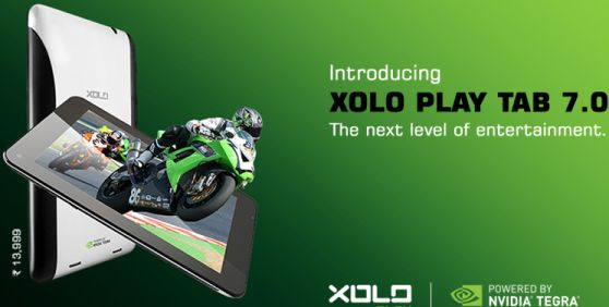 Xolo Launched Play Tab 7.0 with Tegra 3 Processor