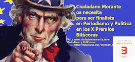 Vota Ciudadano Morante en Periodismo y Política de los X Premios Bitácoras