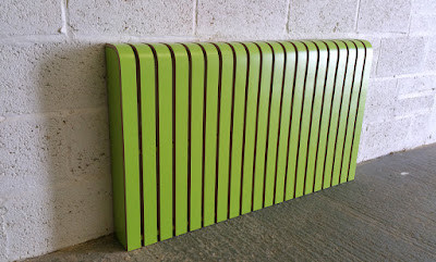Lime green radiator cover