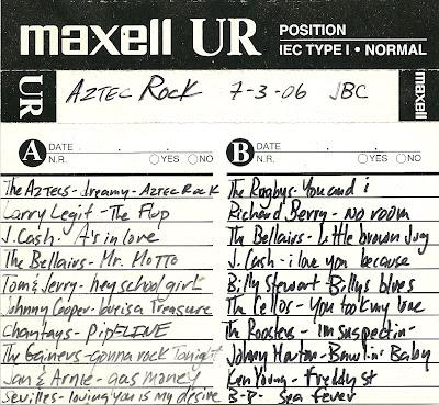 Aztec Rock 7-3-06 - Mix Tape