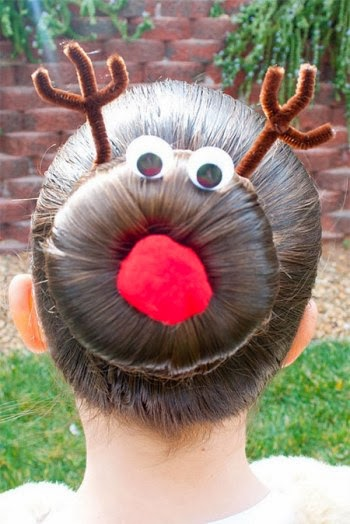 Girl,Trends Cute xmas Hairstyle Ideas For Young Girls