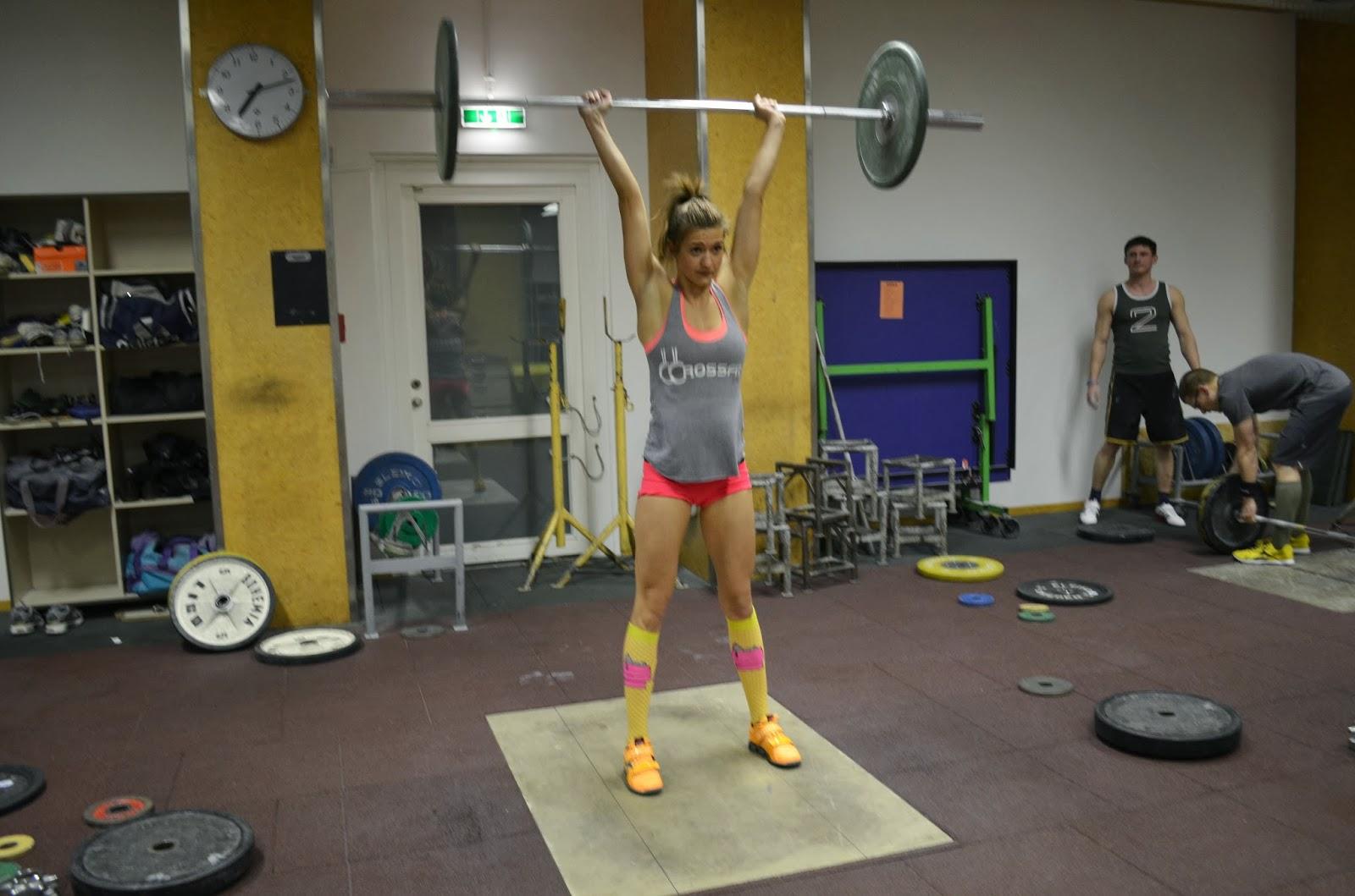 crossfit icke clean jerk gewichtheben
