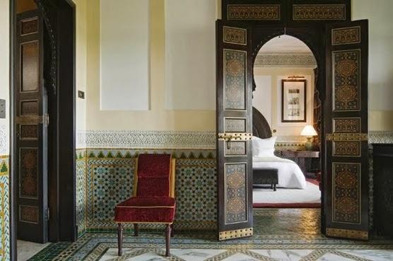 La Mamounia hotel/lulu klein