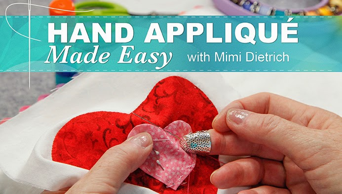 Hand Applique Made Easy
