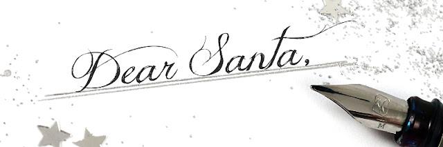 """<span style=""""font-size: large;"""">Dear Santa…</span> <br>Meine Weihnachtswunschliste"""