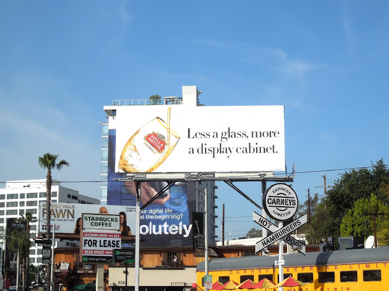 Stella Artois billboard Sunset Boulevard