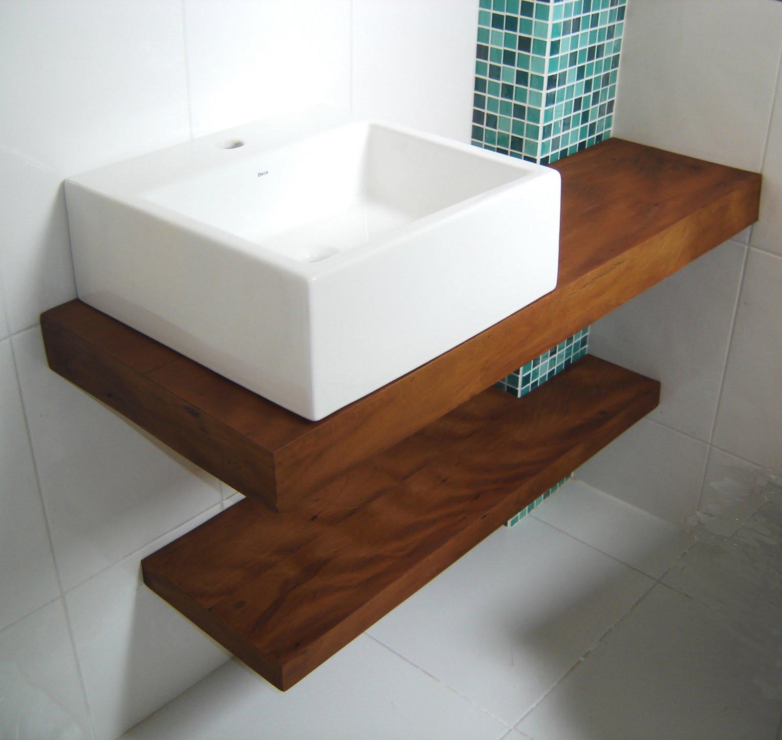 Móveis e Esquad Marchezzi Lavabos e Banheiros -> Pia Para Banheiro Mdf