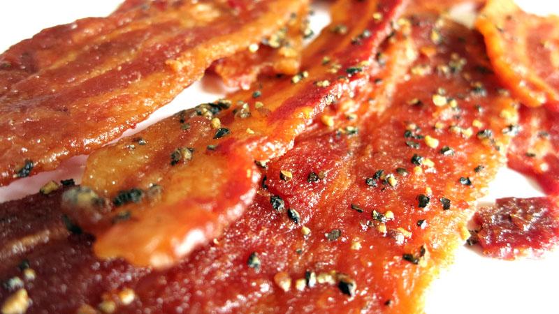 sriracha bacon jerky