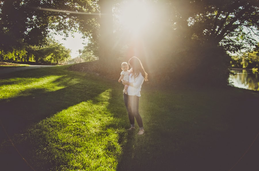 backlighting ideas at a natural light photography session in indianapolis
