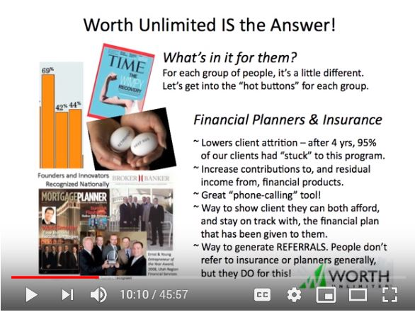 How to TALK about Worth: What's in it for THEM?