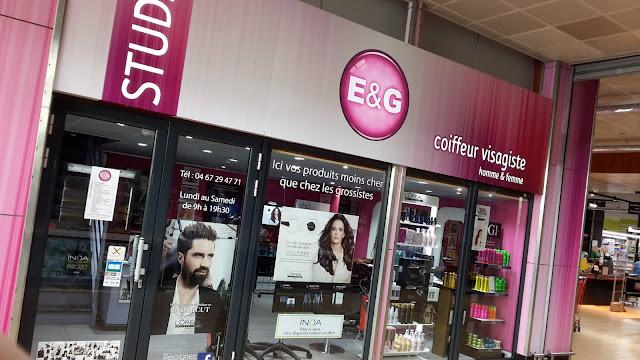 Salon de coiffure E & G, situé au 41 avenue Georges Clemenceau, 34000 Montpellier.